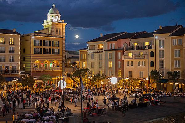 Loews Portofino Bay Hotel at Universal Orlando Harbor Nights Food & Wine Events