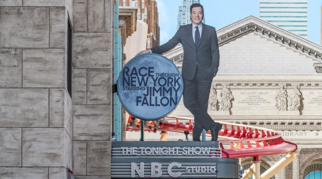 I Could Be Riding the New Jimmy Fallon Ride Right Now!