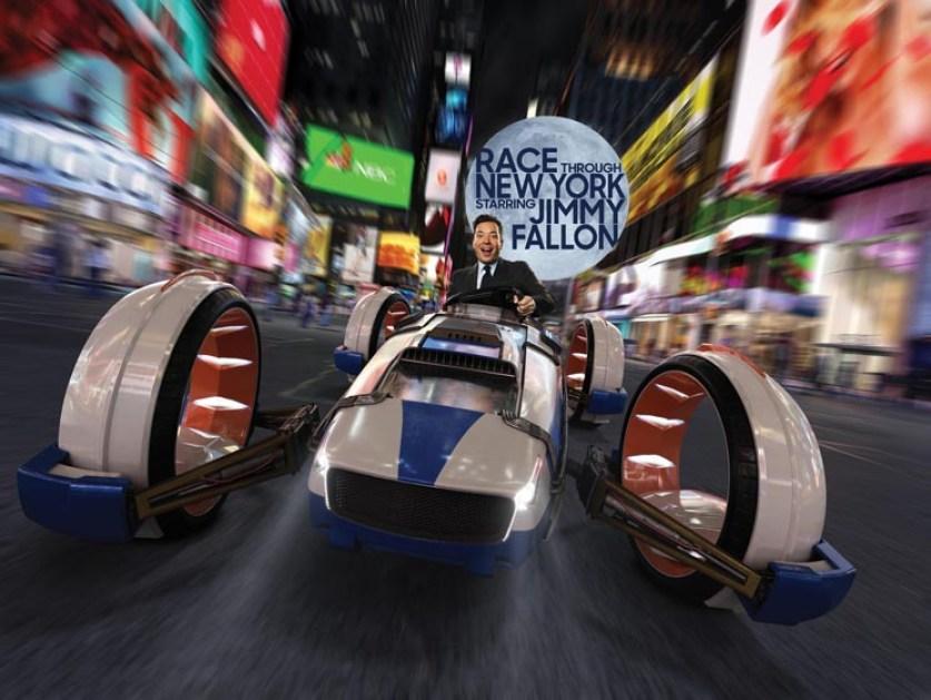 Race Through New York with Jimmy Fallon at Universal Studios Florida