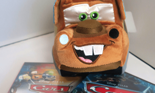 Ultimate CARS Giveaway | Win a Mater Plush & DVD Set