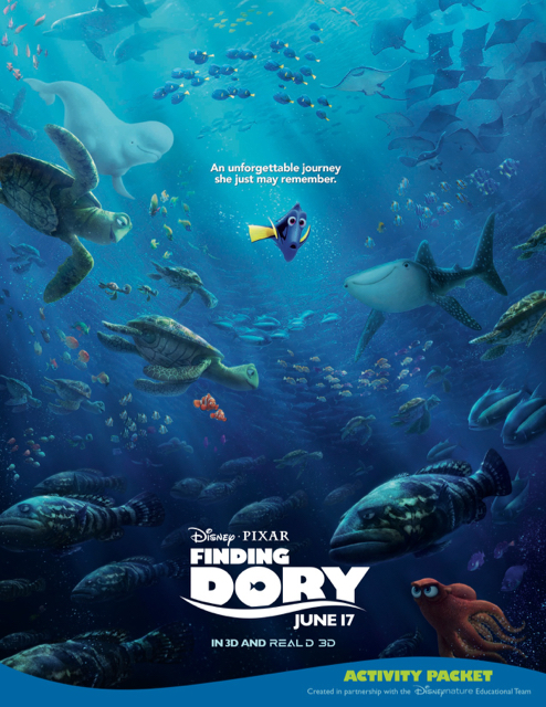 finding dory printable