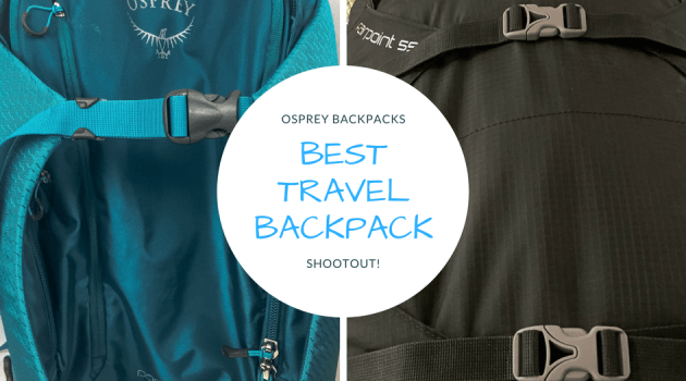 Best Travel Backpack: Osprey Porter vs. Osprey Farpoint