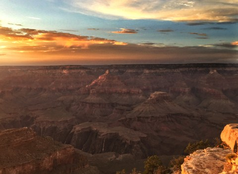 Grand Canyon Sunset: Finding the Right Spot