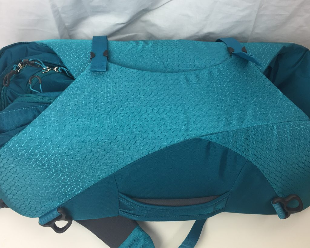 osprey porter compression panels