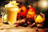 butterbeer latte jack o lantern