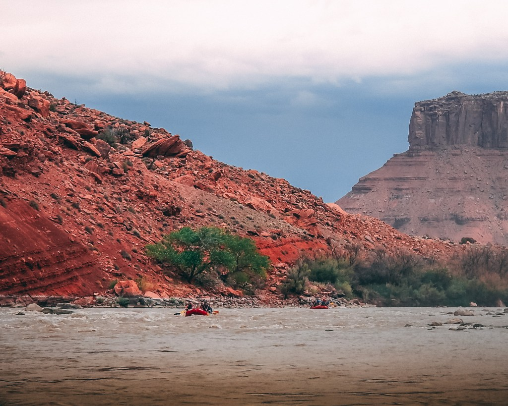 rafting the colorado river class 2 rapids