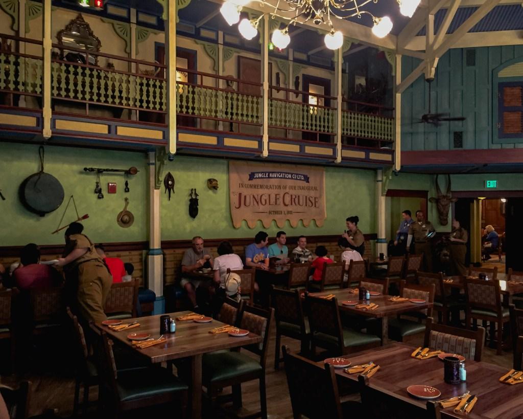 Disney Dining Skipper Canteen