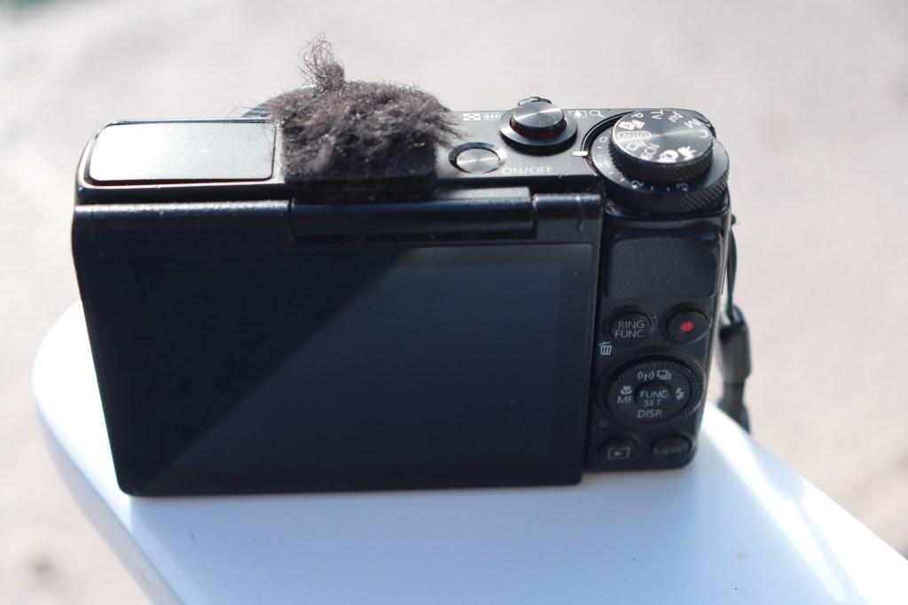 best vlogging camera g7x external mic jack