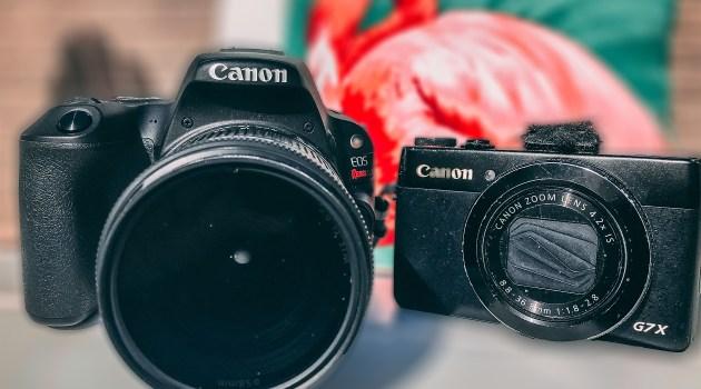 Best Vlogging Camera Canon G7X vs SL2