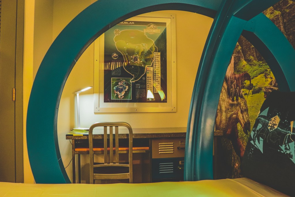 Jurassic World Kids Suite Desk Area