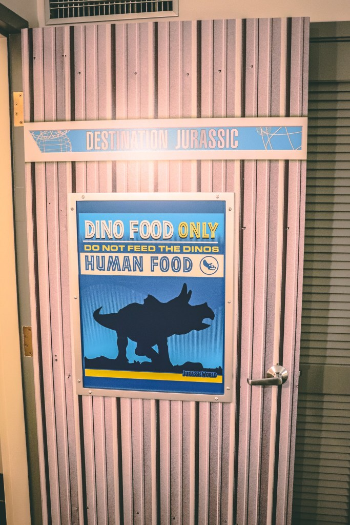 Jurassic World Kids Suite Door
