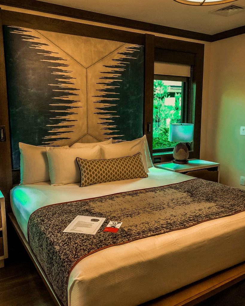 Copper Creek Cabins Master Bedroom