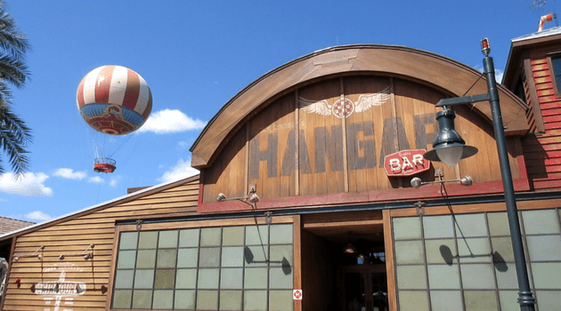 Jock Lindsey's Hangar Bar Restaurant Review at Disney World
