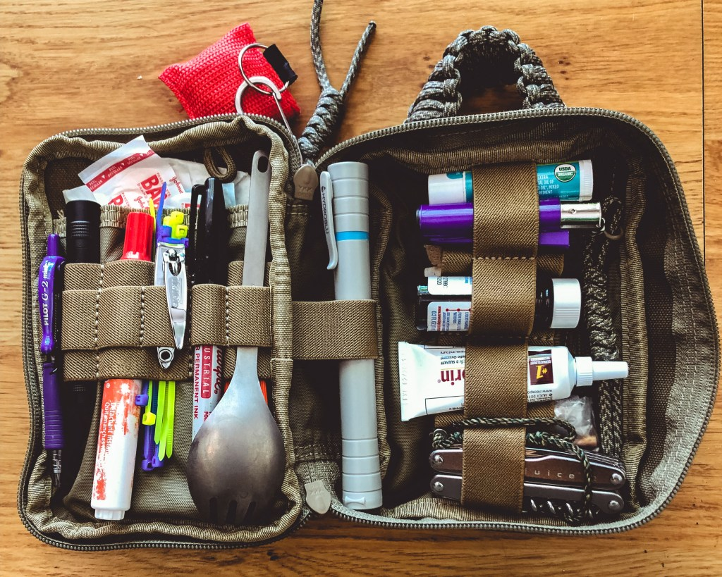 Travel Essentials for Men: Pocket Organizer