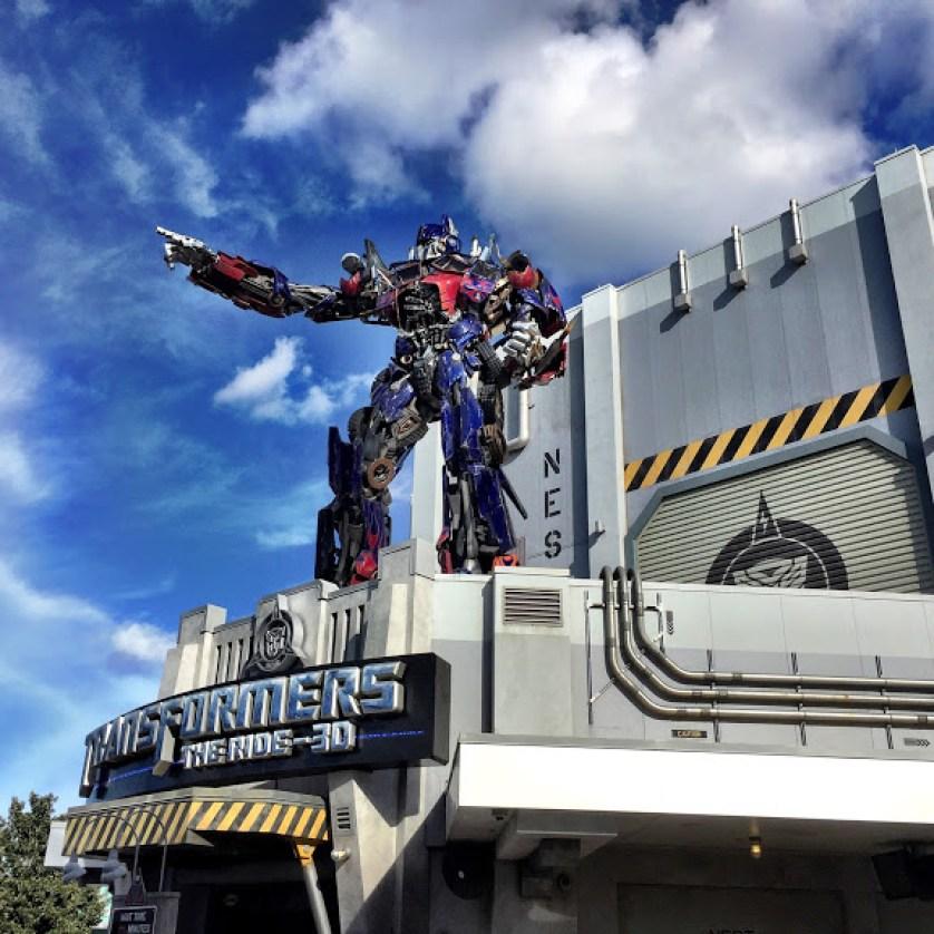 Transformers at Universal Studios Florida