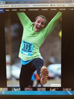 jump at finish