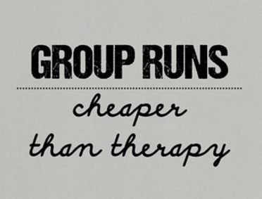 group runs + therapy