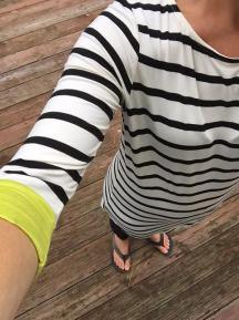 stripes close up