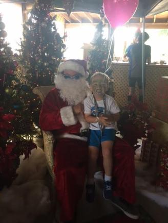 t and santa