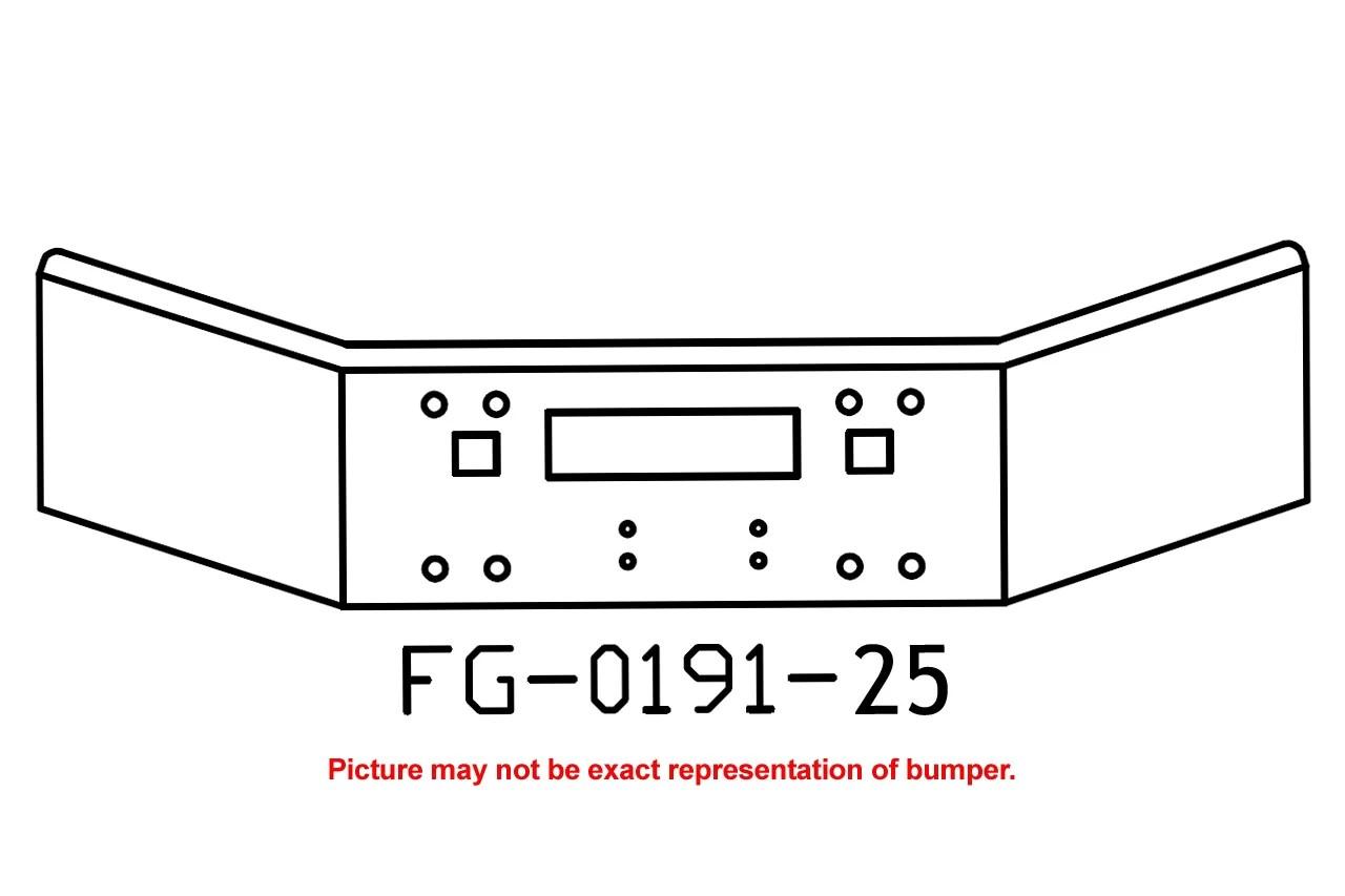 V Fg 25 Aftermarket Fits Kenworth T800 Bumper 14