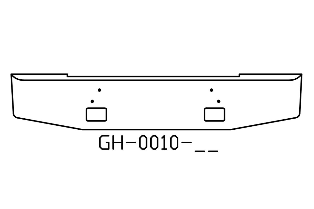 V Gh 02 Aftermarket Fits Mack Rd688 Amp Rd690