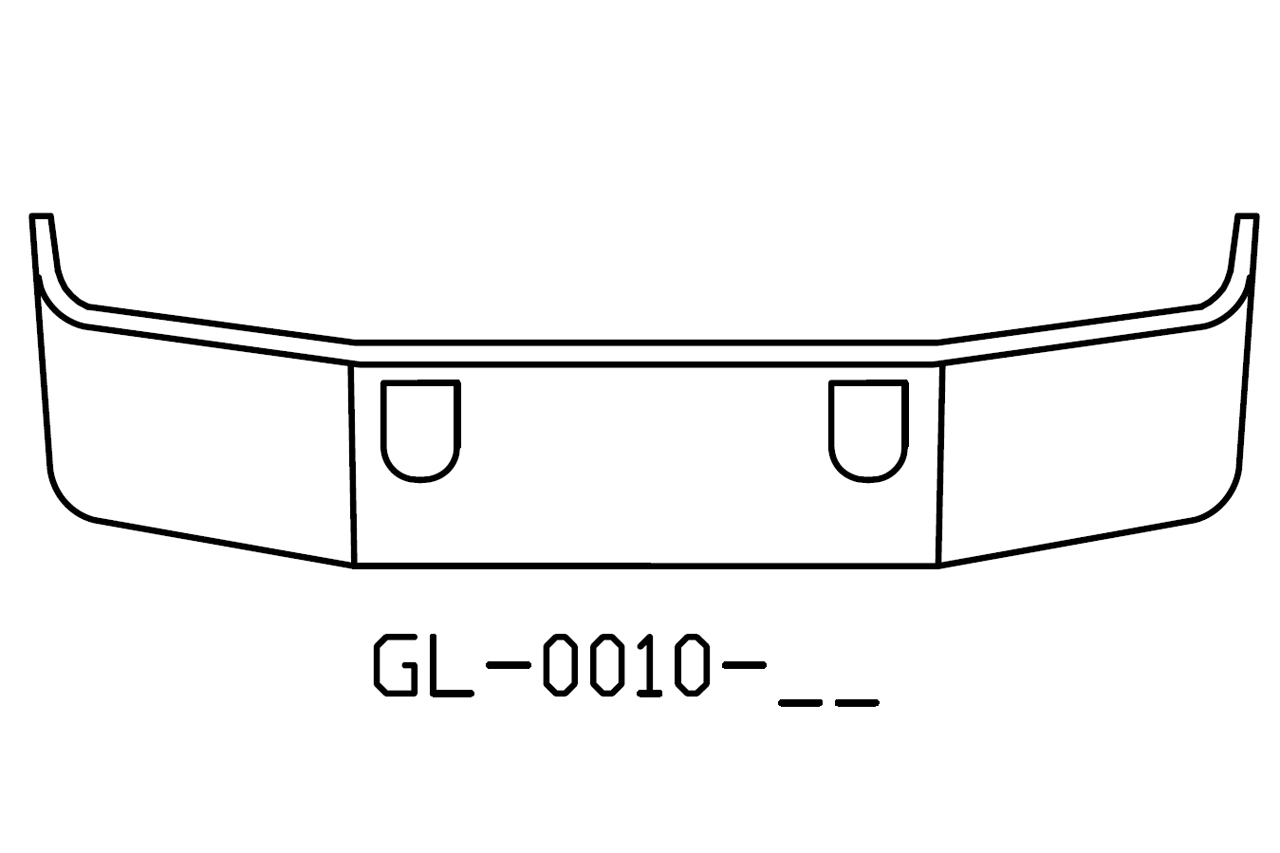 V Gl 17 Aftermarket Fits Mack Ch613 Sba 18 Chrome
