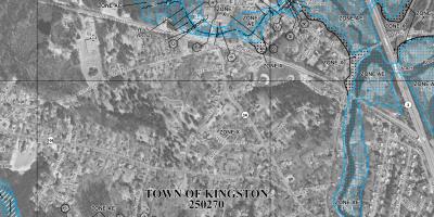FEMA flood map of Kingston
