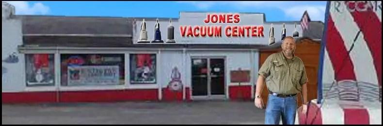 JONES VACUUM CENTER STORE