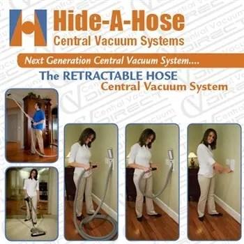 Hide-A-Hose Retractable hose as easy as 1-2-3