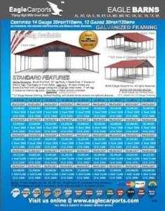 Eagle Barns Carports - Jones Vacuum Low Country