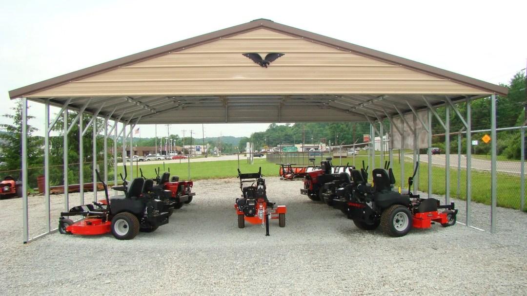 Equipment Carports South Carolina Walterboro - Jones Vacuum Center