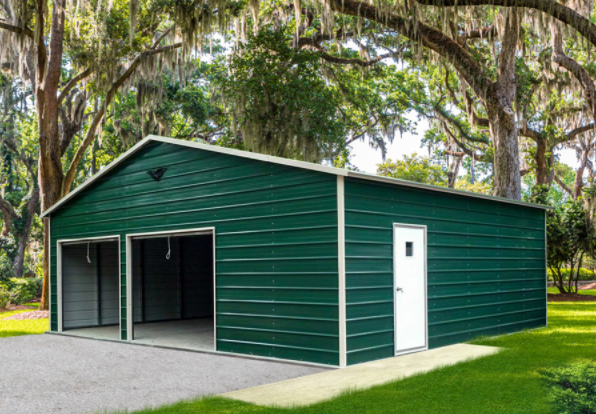 Metal Garage vs Wood Construction
