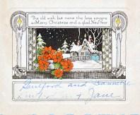 Guilford Jones & Family - Christmas Card