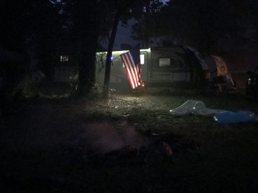 2017JUL4 RVs at night