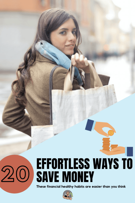 "No you do not have to sell your hair, ""borrow"" your neighbor's WiFi, you can save money the lazy way! Here are 20 tips to help you on the way to start stashing your cash today! #stashyourcash #savemoney #frugality #frugalhabits #effortlesssaving #lifehack #moneyhack"