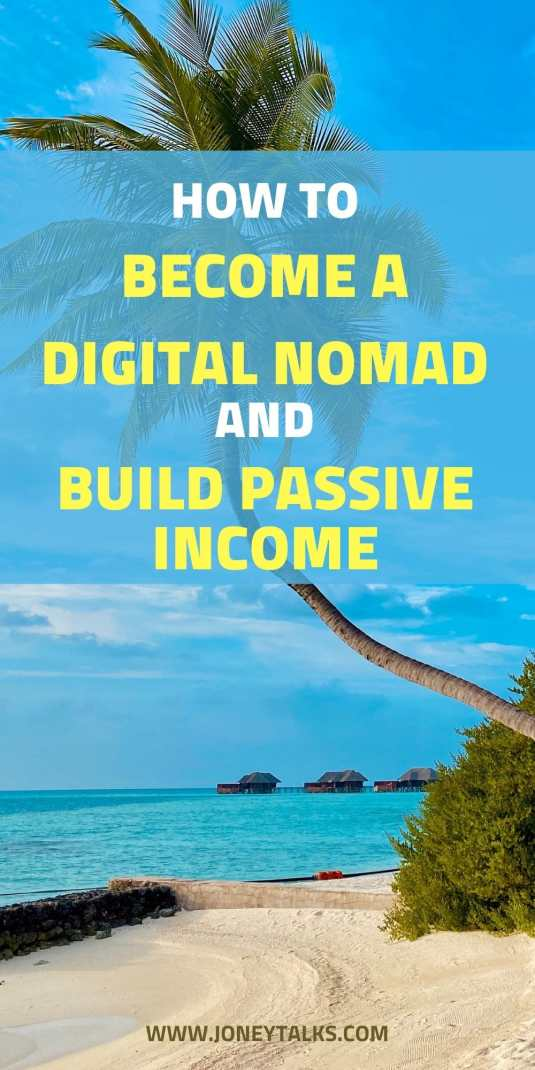 How to become a Digital Nomad and Build Passive Income towards your Financial Freedom! #digitalnomad #sharontseung #passiveincome #financialfreedom