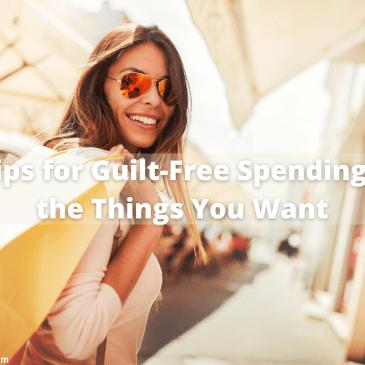 guilt-free spending #shopping #moneymanagement #moneytips