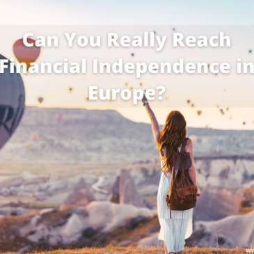 Financial Independence Hot Air Balloon #FIRE #financialindependence