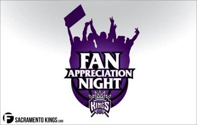 Sacramento Kings Fan Appreciation Night