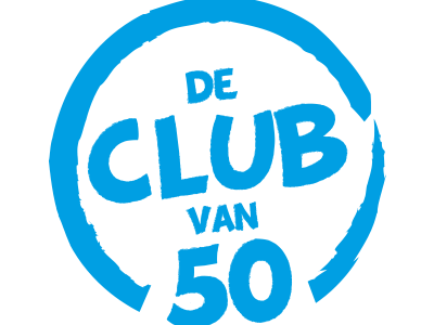 De club van 50 is gelanceerd!