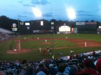 Portland Sea Dogs game