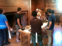 Ye Olde York Town, making cookies