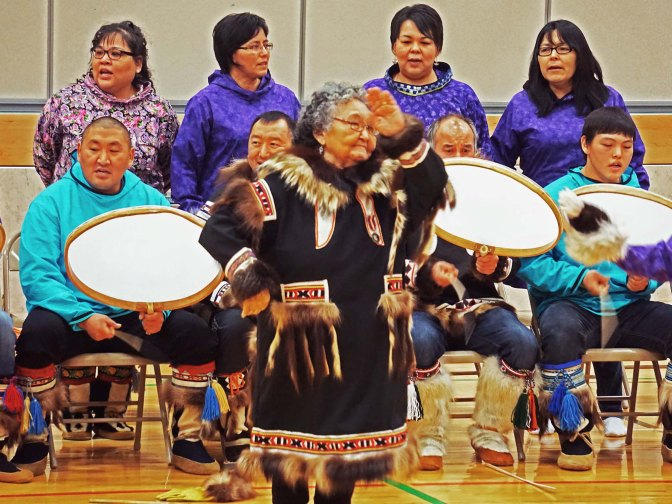 Inuvialuit Drum Dancers