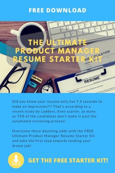 Ultimate PM Resume Starter Kit Download