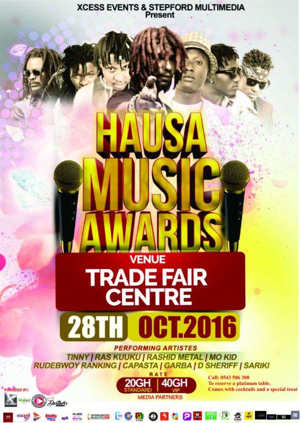 Hausa Music Awards Night poster