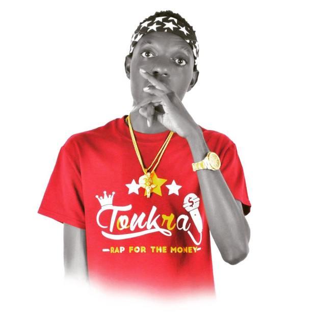 Budding Ghanaian artiste,Tonkra
