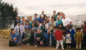 Quito Mission volunteers 1998