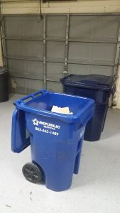 recycle bin after no tv