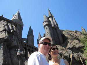 Scott and Sonja at Hogwarts