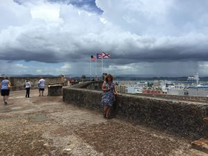 view of San Juan from the fort
